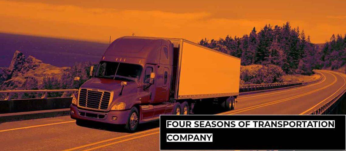 FOUR SEASONS OF TRANSPORTATION COMPANY